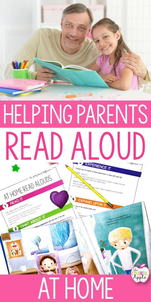 Reading at home can be tricky for parents.  Take the guesswork out of read alouds with this simple strategy!  Helping parents read aloud at home will turn your students into better readers.