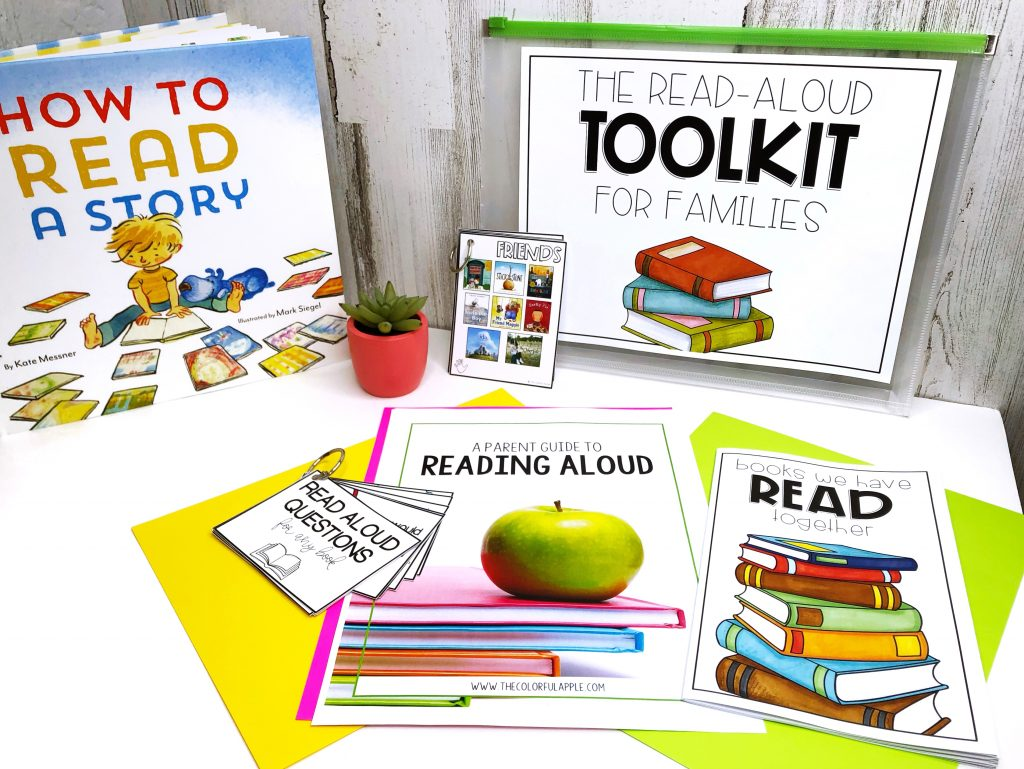 A free toolkit full of reading strategies for parents.  Perfect for teachers to share with families!