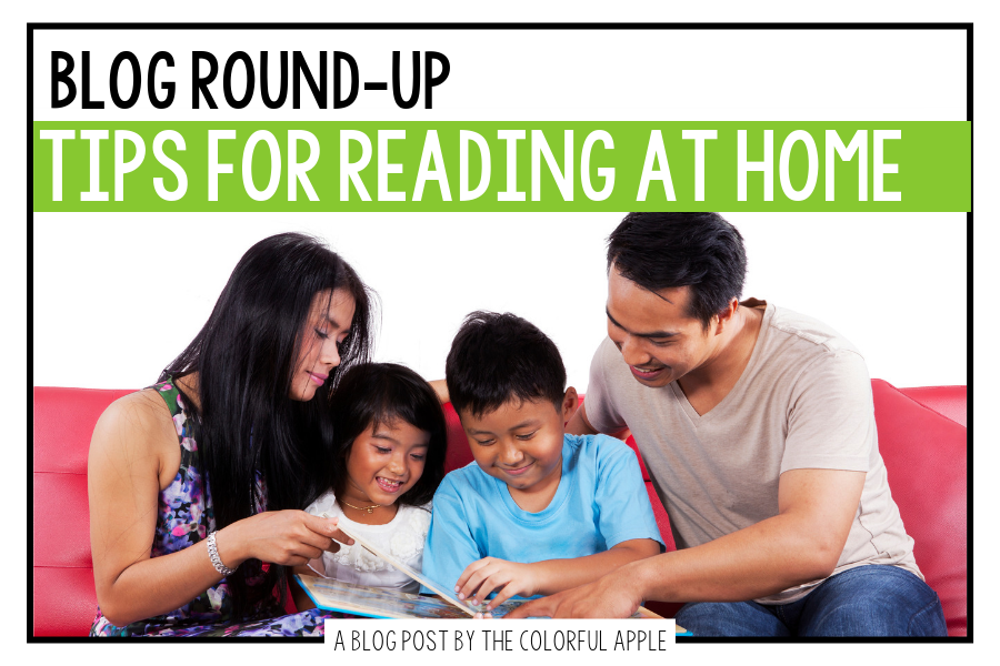 Getting families engaged in the reading process can be tricky.  These tips for reading at home will help all students become better readers!