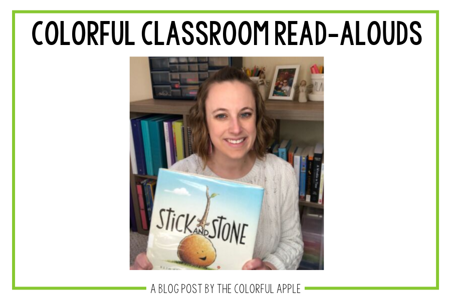 In this week's Colorful Classroom Read-Aloud, we discuss Beth Ferry's book, Stick and Stone. A great book about friends who stick up for each other.
