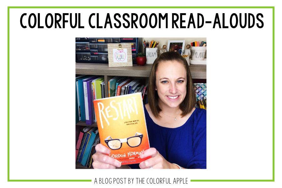 This week's Colorful Classroom Read-Aloud, Restart is a powerful book to start some great conversations in your class.
