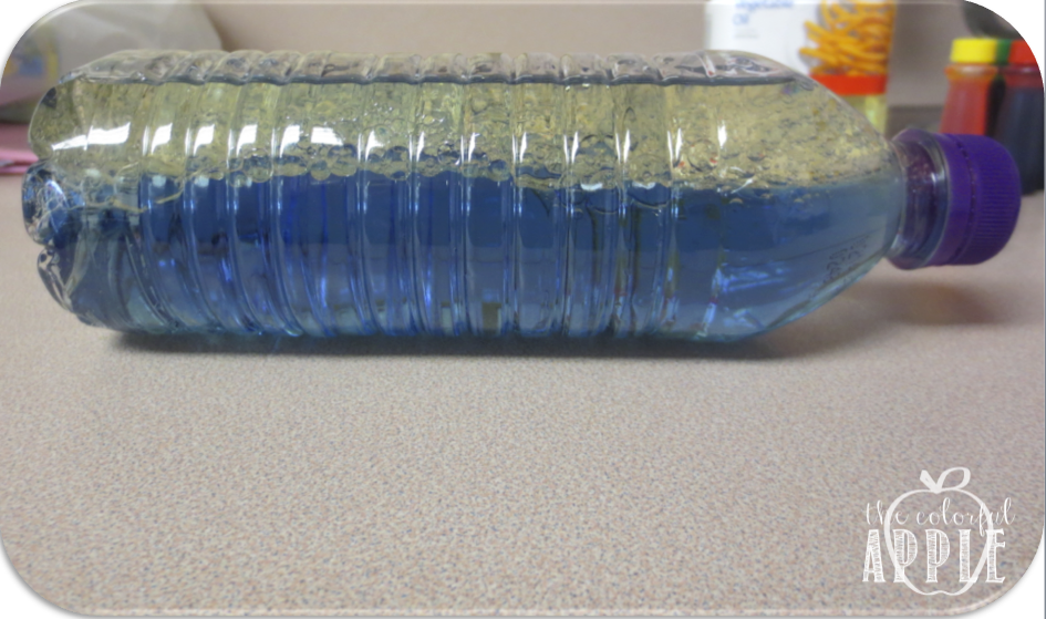 A fun science experiment for kids!  This diy lava lamp is exciting to make with your students in science class!