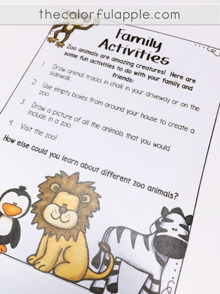 A great alternative to regular reading homework!  Elementary students take home a bag of books each week to share with their families.  The bag includes not only books, but fun family activities as well!