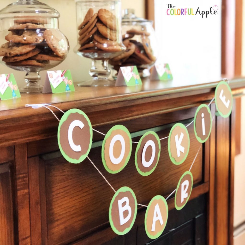 Host a birthday party for your kids based on their favorite books!  Here are some ideas for If You Give a Mouse a Cookie, Curious George and Star Wars!