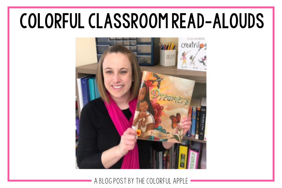 In this week's Colorful Classroom Read-Aloud, we discuss Yuyi Morales' book, Dreamers. A powerful story about strength, passion and following your dreams.