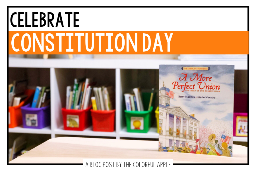 Celebrate Constitution Day with an interactive read-aloud.  Using the book, A More Perfect Union, introduce students to this important document.