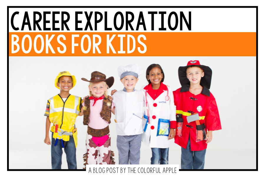 Career Exploration Books For Kids In Elementary School