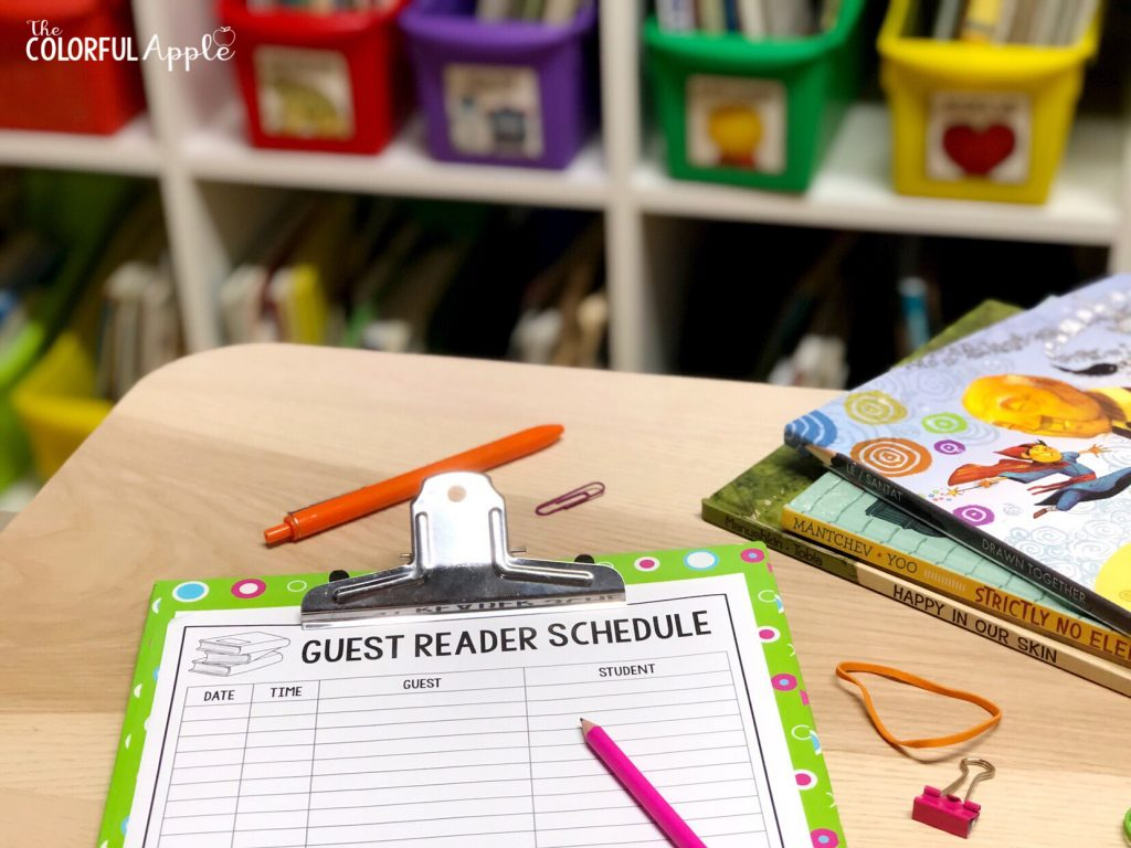 Guest readers in the classroom can have huge benefits for students. Setting up a guest reader program is easy with these free forms!