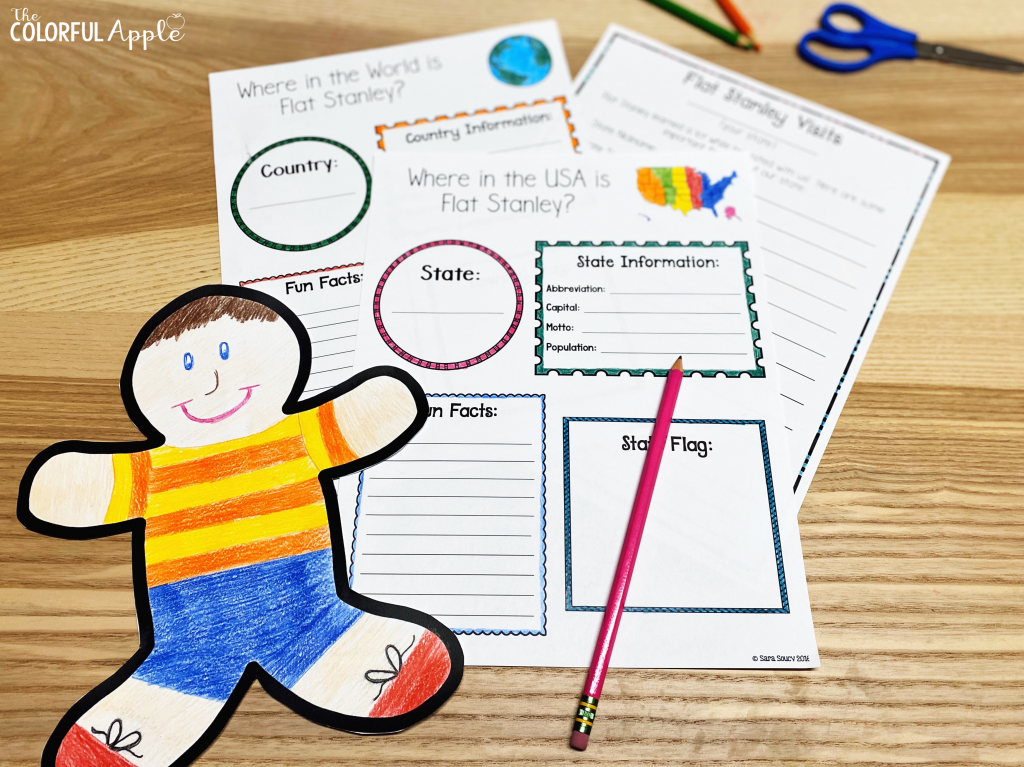 Flat Stanley is such a fun book to share in your elementary classroom! There are so many ways to teach Flat Stanley lessons across the curriculum.