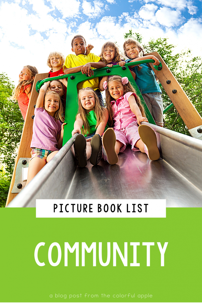 A list of picture books about community for your elementary classroom! Teach students important SEL skills with read-aloud books.