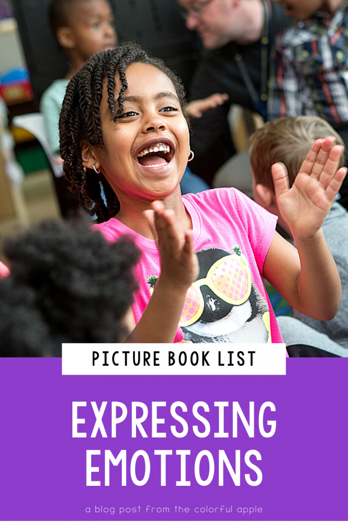 A list of picture books about emotions for kids. Great books to use for Social Emotional Learning in the elementary classroom!