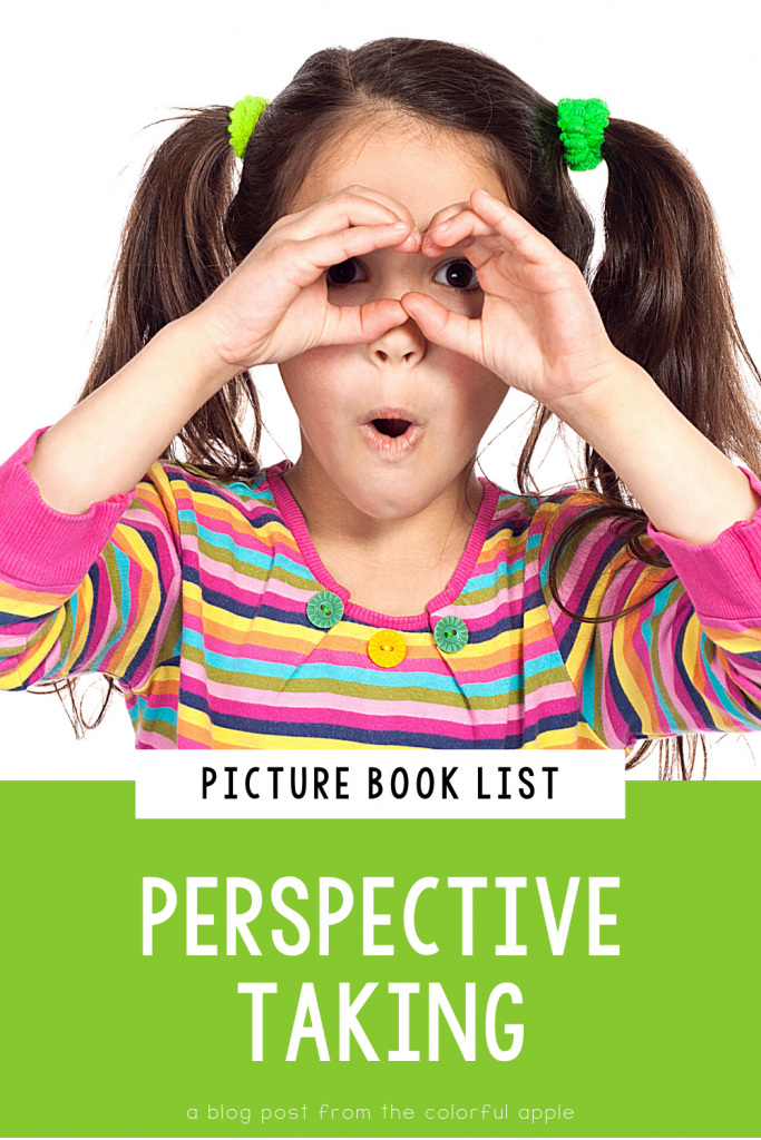 A list of picture books about perspective taking for your elementary classroom! Teach students important SEL skills with read-aloud books.