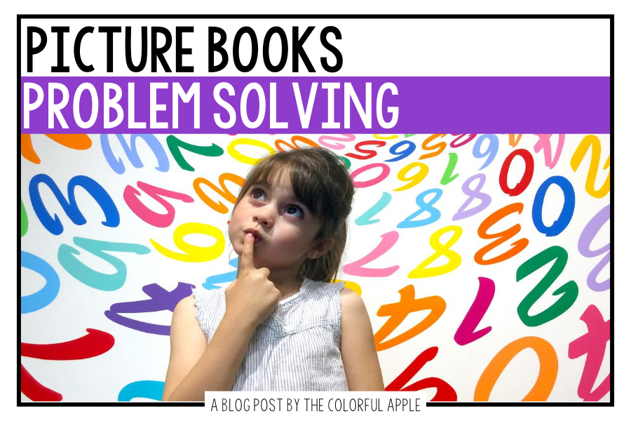 A list of picture books about problem solving for your elementary classroom! Teach students important SEL skills with read-aloud books.