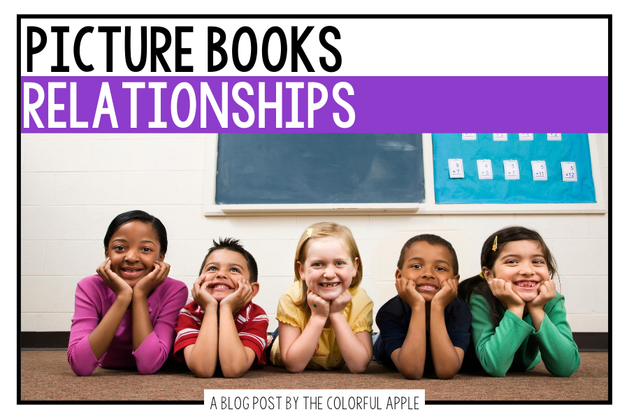 A full collection of picture books about relationship skills. Use these read alouds to teach students about friendship and more!