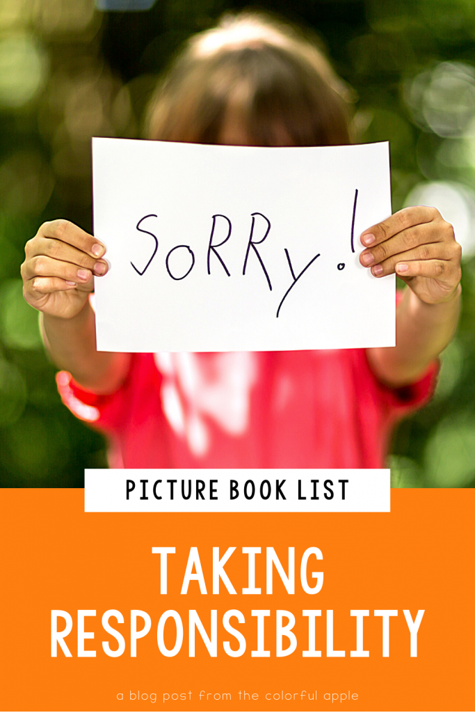 A list of picture books about responsibility for your elementary classroom! Teach students important SEL skills with read-aloud books.