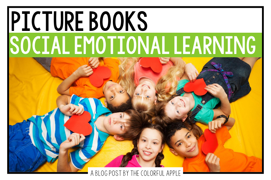 A huge list of picture books for Social Emotional Learning! A great resource for teaching SEL through read alouds in the classroom.
