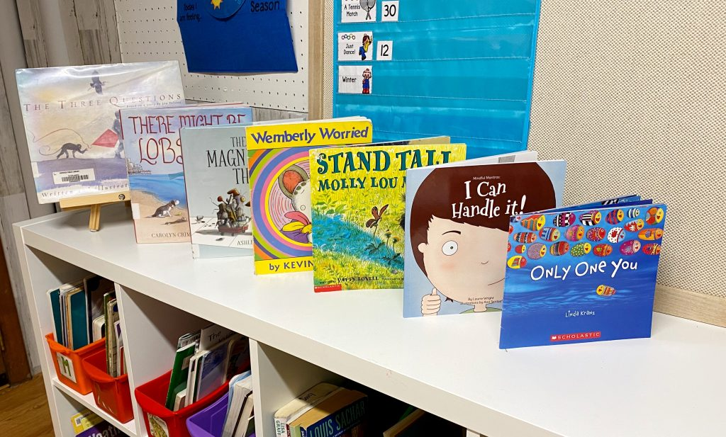 A full collection of picture books about self awareness. Use these read alouds to teach students important Social Emotional Learning skills!