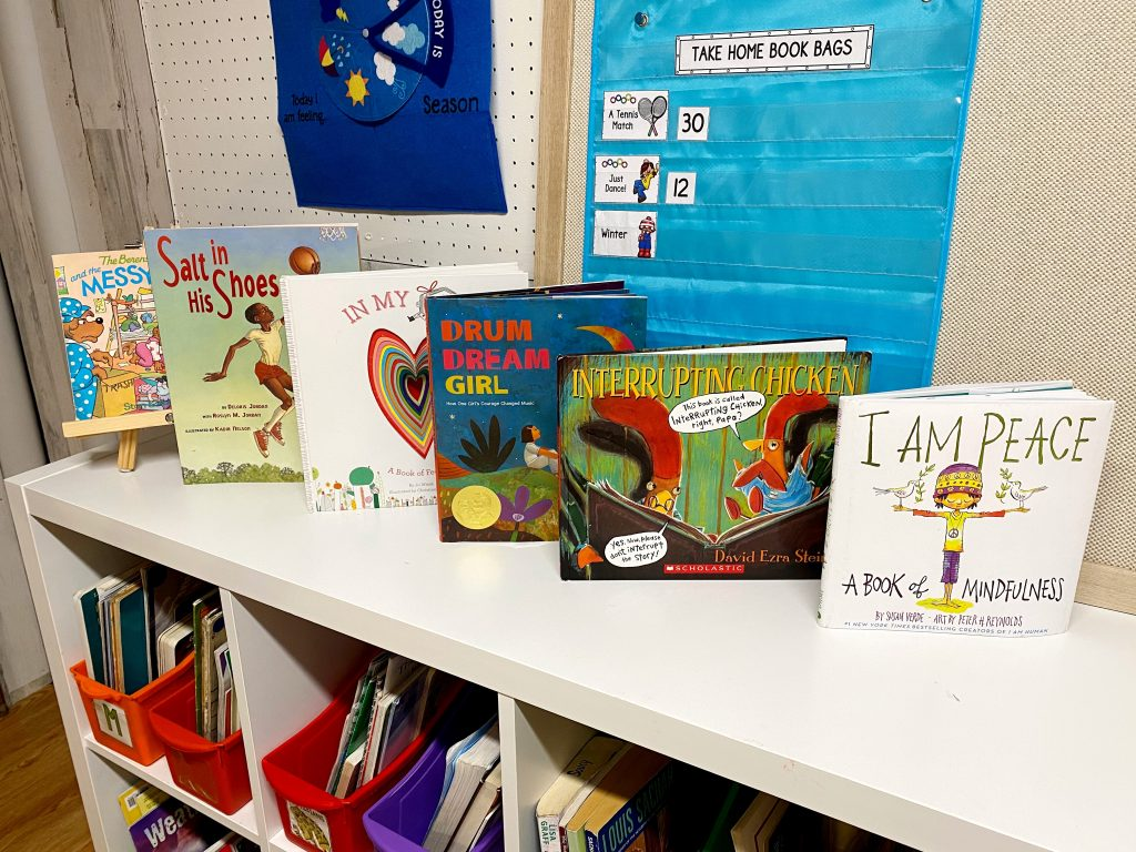 A full collection of picture books about self management. Use these read alouds to teach students important SEL skills in the classroom!