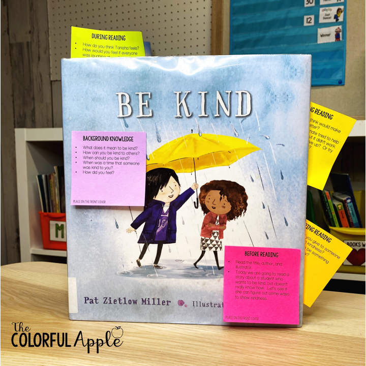 Kindness books help kids understand and empathize with others.  They are invaluable tool for discussion in the classroom.