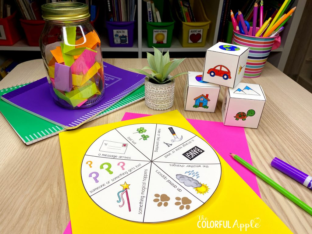 These free storytelling activities are a great way to build imagination and creativity in the classroom!  Students will have so much fun!