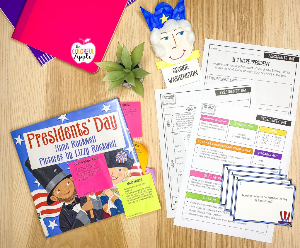 This Presidents' Day read aloud is perfect for your class!  After reading the book, use this free lesson plan and activity!