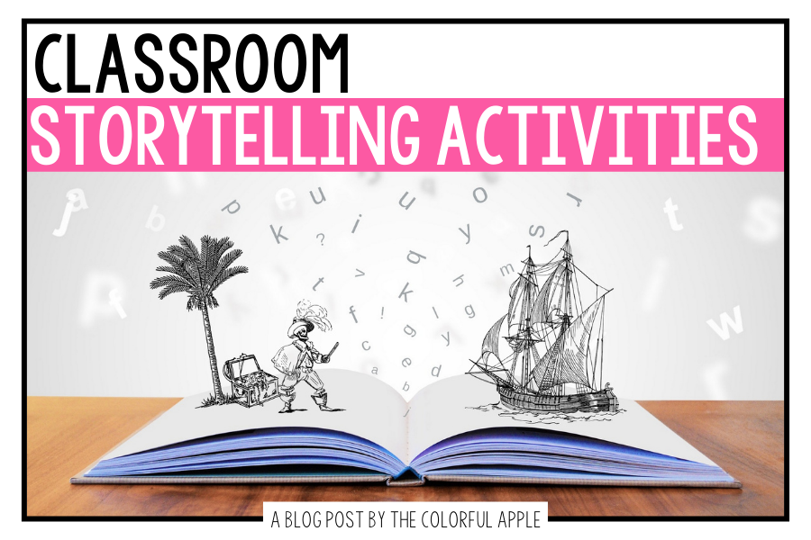 Storytelling activities not only build imagination and creativity, but they can be a beneficial learning tool too! Great for the classroom.