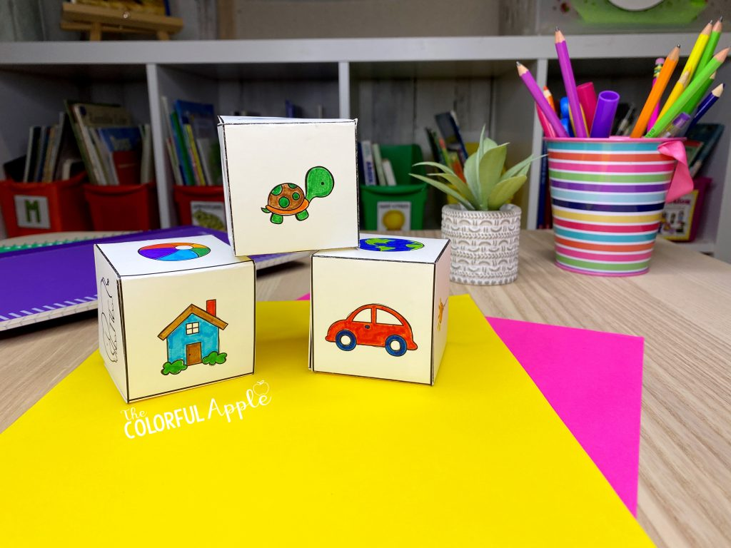 Storytelling activities not only build imagination and creativity, but they can be a beneficial learning tool too! Check out these free storytelling cubes!