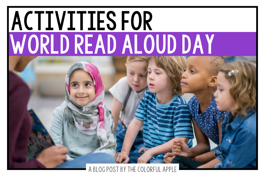 These World Read Aloud Activities are a great way to build book excitement in your classroom! Such fun ideas to choose from!