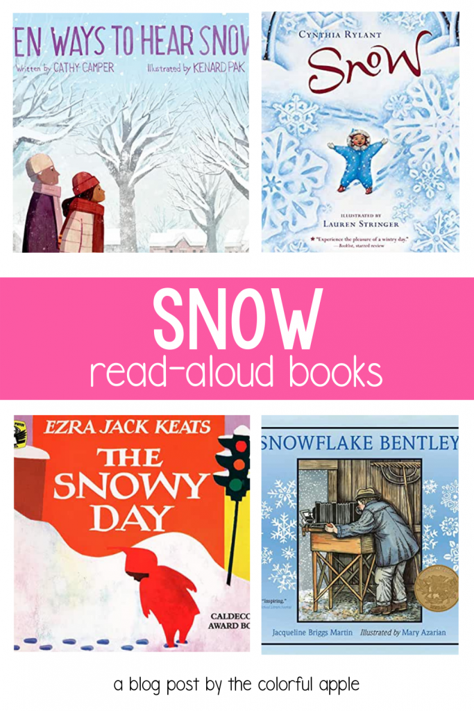 What is more exciting than snow for kids?? Check out these snow read aloud books to share with your students in the classroom!