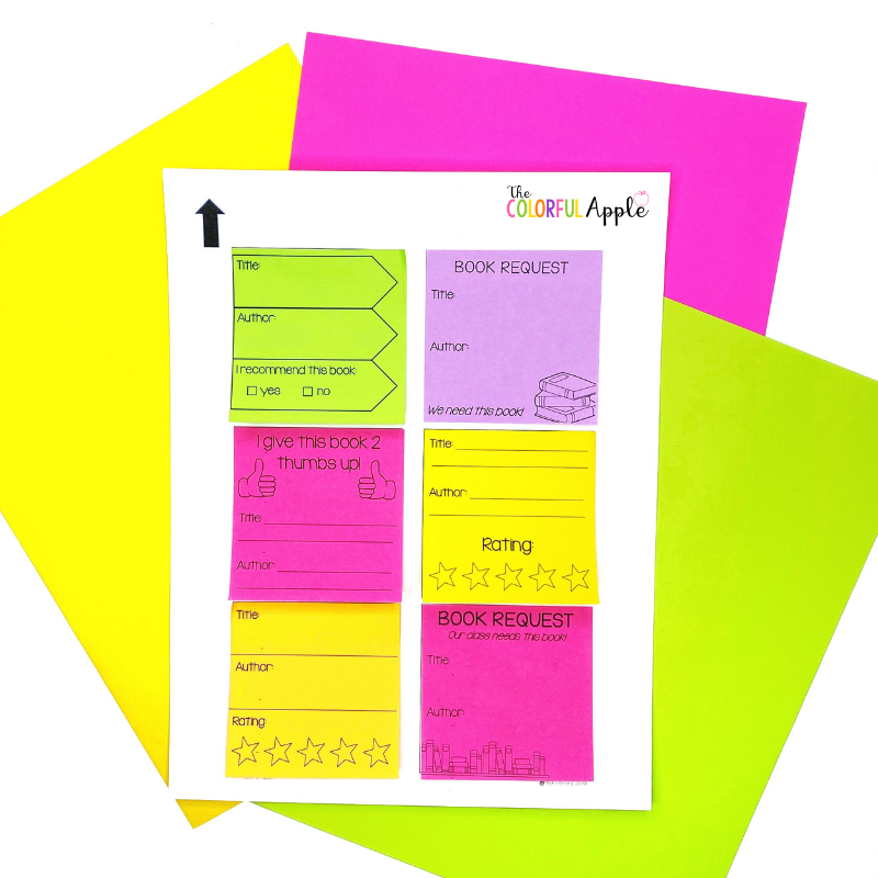 Download this free post-it note template!  It's so easy to print on sticky notes!