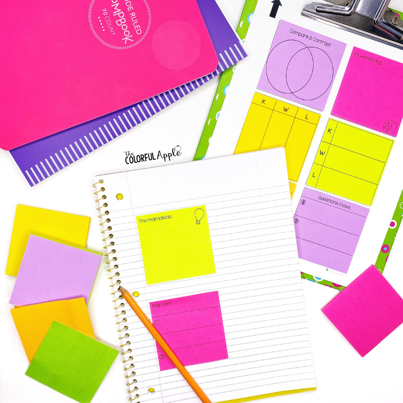 Did you know that you can print on sticky notes?  They can be used in so many ways!  Check out this easy tutorial to get started.