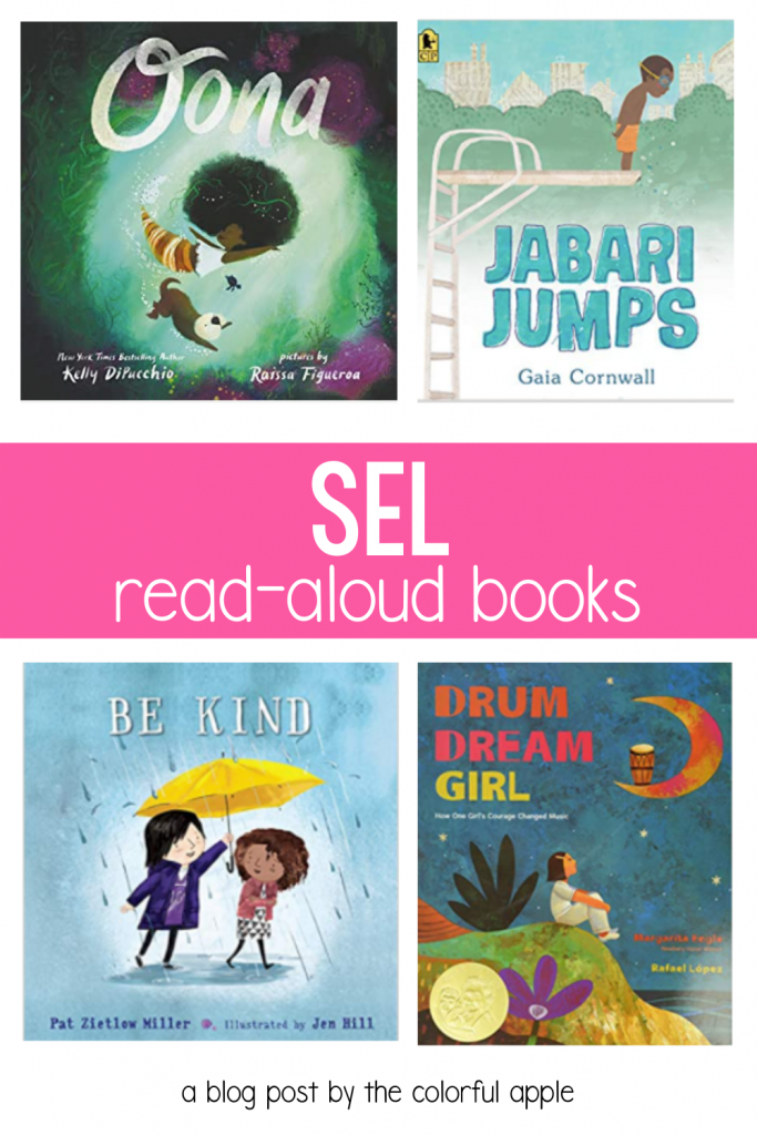 This list of SEL picture books is an important resource for the classroom!  Social Emotional Learning is more important than ever.