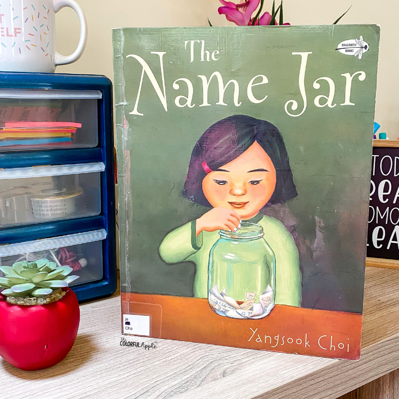 May is Asian American & Pacific Islander Heritage Month. The Name Jar is a great book to read aloud in the classroom to celebrate these voices.