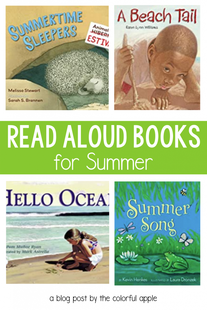 Summer is such a fun season to celebrate and enjoy! These summer read aloud books truly bring the fun of the warm weather to life!