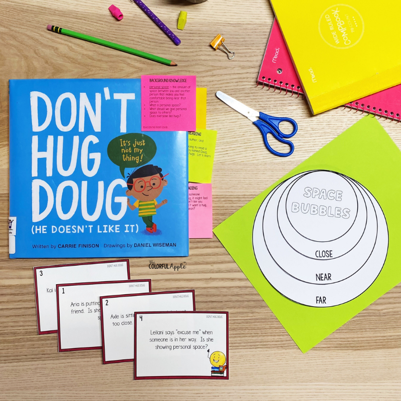 Don't Hug Doug is a great book to read aloud.  Use this interactive read aloud lesson plan to guide you!