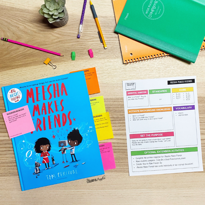 These back to school books are perfect for the first few weeks of the school year. Build classroom community with these titles!