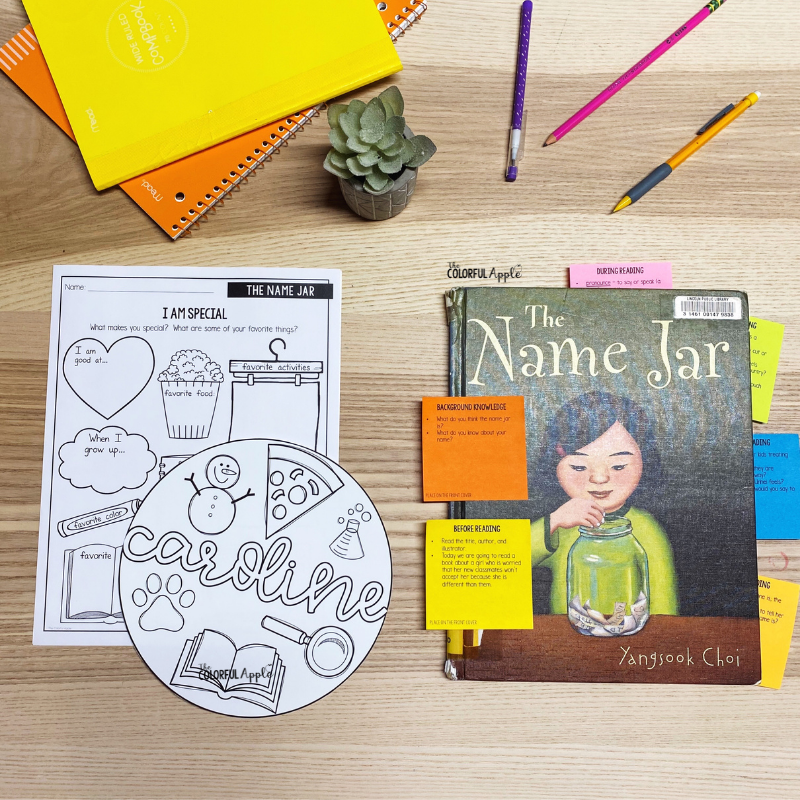 The Name Jar is a wonderful classroom read aloud!  This interactive lesson plan will help students understand how important it is to accept others.