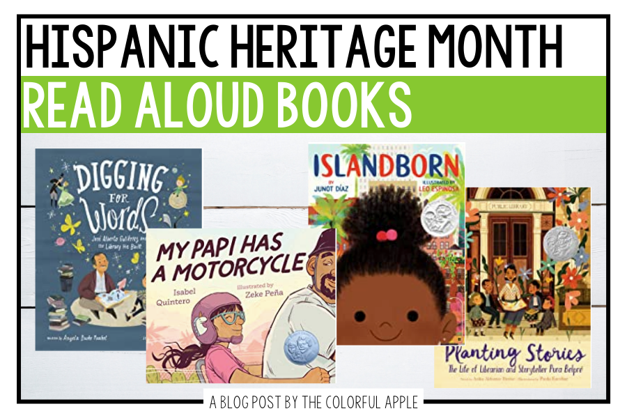 These Hispanic Heritage Month books are perfect for September and October! This list will get you started with some amazing read alouds.