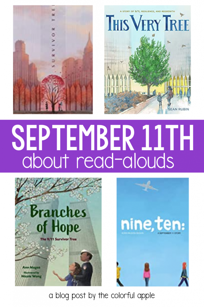 September 11th books are a great way to discuss Patriot Day with your students in the elementary classroom.